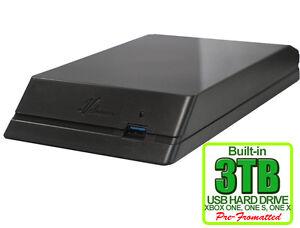 New Avolusion HDDGear 3TB (3000GB) USB 3.0 External XBOX ONE Gaming Hard Drive