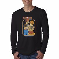 Rainy Day Fun Funny Men's Cotton Long Sleeve Casual Crew Neck t-shirts Tees tops