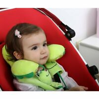 Kids Head Neck Support Pillow with Seat Strap Cover Shoulder Pads Pillow for Car