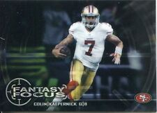 Chrome Football 2014 FANTASY FOCUS FF-CK Colin Kaepernick-San Francisco 49ers
