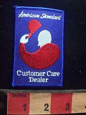 American Standard Customer Care Dealer Advertising / Uniform Patch 77P7