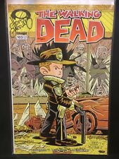 THE WALKING DEAD Image Comic #103 Signed CHRIS GIARRUSSO Sealed VARIANT #d /1000