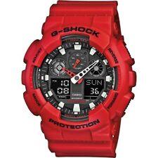 Casio G-Shock Dual Display Chronograph Resin Strap Gents Watch