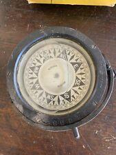 Rare! Antique U.S. Navy Ships Compass E.S Ritchie Boston Liquid
