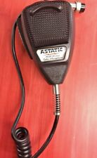 Astatic Microphone Mic 636L CB Ham Dynamic Noise Cancelling - 4 Pin Plug