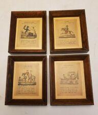 Set of Framed Print Parts of Speech - Classroom Teacher Gift