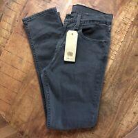 Levi's 512 Jeans Slim Taper Stretch Black 288330108 Mens 31x32