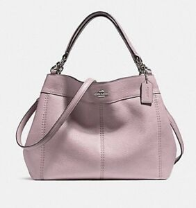 COACH SMALL LEXY SHOULDER BAG IN LEATHER  Blush