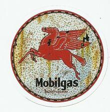 MOBIL MOBILGAS GASOLINE  Sticker Decal