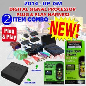 2014 - UP SELECT GM AX-DSP-MOST1 AX-DSP DIGITAL SIGNAL PROCESSOR CHIME CONTROL