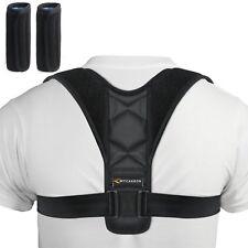 Corrector Espalda Hombre Mujer Enderezar Postura Cuello y Hombros 110-135 cm