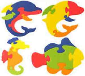 Sealife Soft Eva Foam Puzzle Kids Pocket Party Jigsaw Game Party Loot Bag Filler
