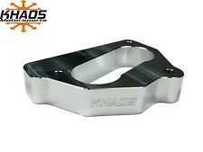 "Khaos Motorsports 1.7"" Open Bore Throttle Body Spacer 87-95 Chevy 5.7L 5.0L 4.3L"