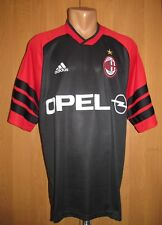 AC MILAN 2000/2002 TRAINING FOOTBALL SHIRT SOCCER JERSEY MAGLIA CALCIO ADIDAS L