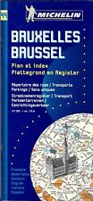 Michelin Map of Bruxelles (Brussels) International Edition Map #44