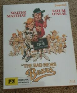 THE BAD NEWS BEARS  Blu-Ray (Imprint Limited Edition) NEW/Sealed