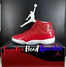 Authentic Nike Air Jordan 11 Win Like 96 Retro XI Gym Red 378037 623  Size 13