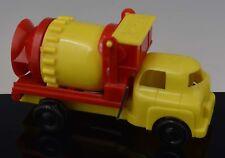 Vintage Rare Canadian RELIABLE PLASTIC TOY CEMENT TRUCK CONCRETE MIXER NR