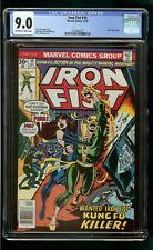 IRON FIST #10 (1976) CGC 9.0 CHAKA APPEARANCE 1st PRINT
