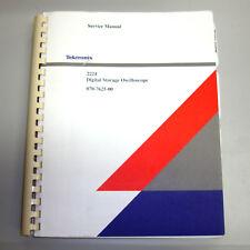 Tektronix 2224 Digital Storage Oscilloscope Service Manual (P/N 070-7625-00)