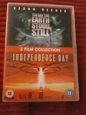 The Day The Earth Stood Still / Independence Day (DVD) Very good condition.