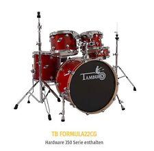 "TAMBURO Drumset  SERIE  ""FORMULA"" in Cherry Gloss  Top SOUND  mit HARDWARE ! NEW"