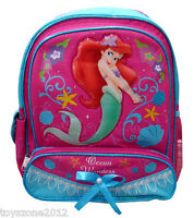 """A00539 The Little Mermaid Small Backpack 12"""" x 10"""""""