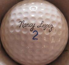 (1) NANCY LOPEZ SIGNATURE LOGO GOLF BALL (Ram Surlyn CIR 1972) #2
