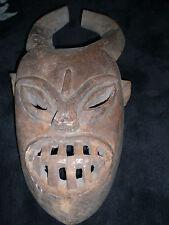 ANCIEN MASQUE AFRICAIN ORIGINAIRE DU NORD CONGO