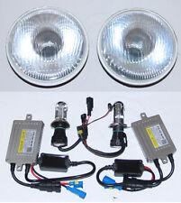 Toyota Landcruiser 40 60 75 78 79 series 55W HID Hi/Lo Beam Round Headlights