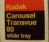 Vintage Kodak 760H Carousel Slide Projector. With RARE Leather Case! NICE!