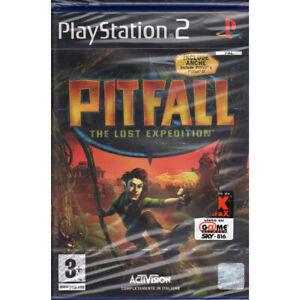 Pitfall: The Lost Expedition / Halifax Playstation 2 PS2 Sigillato