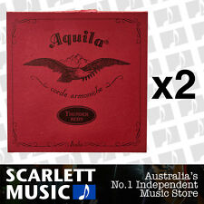 2x Aquila 91U Red Series Thundergut Bass Uke Strings GDAE 91-U *SET OF 2 PACKS*