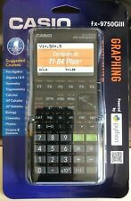 Casio fx-9750Giii Graphing Calculator Python Black