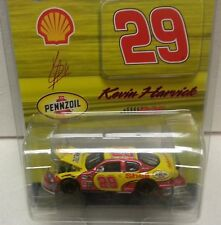 KEVIN HARVICK 2007 SHELL PENNZOIL 1/64 ACTION DIECAST HOOD OPEN CAR