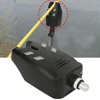 Electronic Fishing Bite Alarm Sound LED Alert Bell Indicator Clip-On Fishing Rod