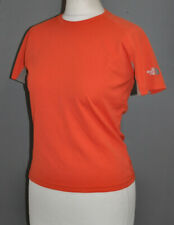 The North Face Flight Series Orange T- shirt Top Short Sl. S / Small Gym Running
