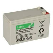 Lucas LSL17-12 12V 7Ah Rechargeable Battery