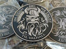 IN ODIN WE TRUST -  MORALES - AIRSOFT - TACTICAL 2D PVC PATCH