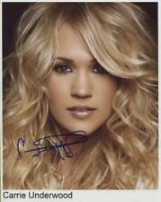 Carrie Underwood Signed 8 x 10 Photo Genuine In Person + Hologram COA