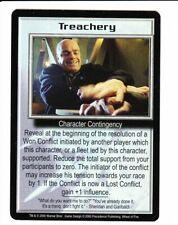 BABYLON 5 CCG Wheel of Fire  TREACHERY