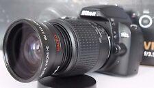 Wide Angle Macro Close Up Fisheye Lens for Nikon D3300 D3200 D3100 D40 dcpl 52mm
