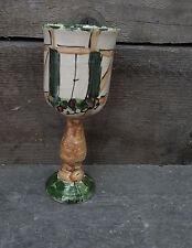 Weinkelch Weinglas Wasserglas  Keramik in Fachwerk