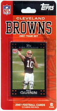 2007 Cleveland Browns Topps NFL Factory Football Cards Team Set - 12 Cards