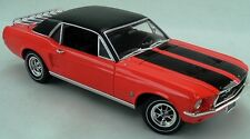 1967 Mustang Coupe Ski Country Special Aspen Red 1:18 GreenLight 12892