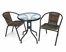 Unbranded Rattan 3 Seats Garden & Patio Furniture Sets