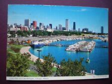 POSTCARD USA ILLINOIS - CHICAGO - GRANT PARK AND LAKE MICHIGAN