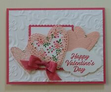 VALENTINE Handmade Card Kit, Stampin' Up! - Meant To Be - Set Of 4