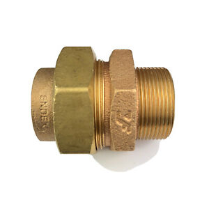 Endex N69 Straight Male Union Connector 42mm x 1.5''BSPT  BS1010.
