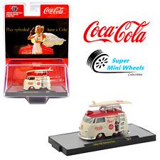 M2 Machines 1:64 - Coca Cola - 1960 VW Delivery Van & Surfboard